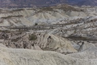 Desert landscape near Abanill...