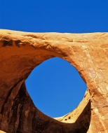 Moccasin Arch in Monument Val...