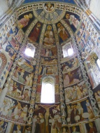 Apse with frescoes, Basilica ...