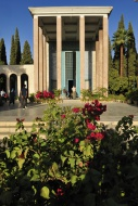 Mausoleum of the famous Persi...
