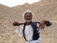 Ali, the Ababda Bedouin elder...