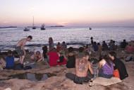 sunset strip in Sant Antoni d...