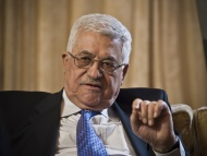Mahmoud Abbas, chairman of th...