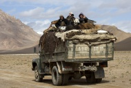 Truck with nomads and dismant...