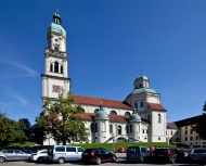 Basilica of St. Lorenz, a for...