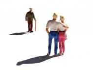 Miniature figurines, couple w...