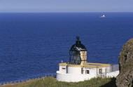 lighthouse at St. Abb�s Head ...
