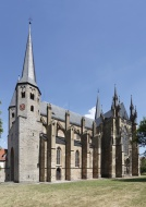 Gothic collegiate church of S...