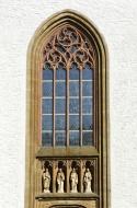 Window above the church porta...