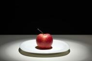 Red apple (Malus domestica), ...