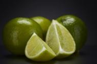 Limes (Citrus latifolia), and...