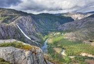 Storskogdalen valley with Lit...