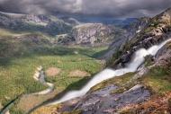 Litlverivassforsen waterfall ...