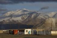 Alichur on the Pamir Highway ...