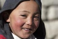 Kirghiz boy, Pamir, Tajikista...