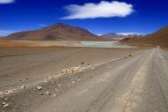 Atacama Desert with Laguna Bl...
