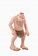 Stone age man, cartoon character