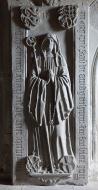 Grave plate of Helena von Hoh...
