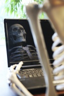 Skeleton using a computer wit...