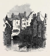 ON THE CANAL, ABBEVILLE, 1871