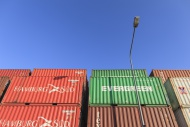 Container Storage Lot at the ...