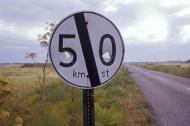 Shots at a Signpost at Mesary...