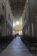 Nave, Abbey Church of Abbazia...