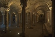 lombardic crypt of minster in...