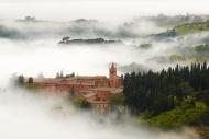 Monte Oliveto Maggiore abbey ...