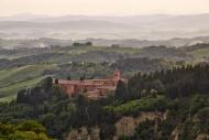 Monte Oliveto Maggiore abbey,...