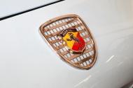 Abarth logo on a car