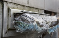 Mail rotting in a letterbox, ...