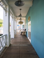 Porch, Marigot Bay, Castries ...
