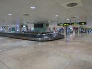 Baggage carousel at Barcelona...