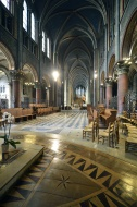 Nave, abbey church, �glise Sa...