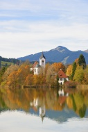 Church, Weissensee district, ...