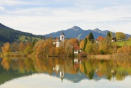Weissensee district, Lake Wei...