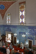Turkey, Istanbul, Interior of...