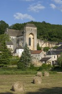 The medieval village Saint-Am...
