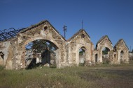 Old abandoned buildings of th...