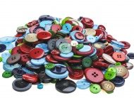 Group of colourful buttons.