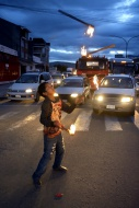 Bolivia, Cochabamba, street k...