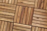 Wooden terrace tiles