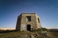Spain, Galicia, Ferrol, Ruins...