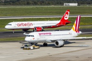 Air Berlin Airbus A321 and Ge...