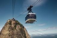 Brazil, Rio de Janeiro, cable...