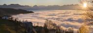 Austria, Bregenz, View of Lak...