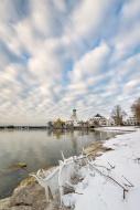 Germany, Wasserburg, Lakeshor...