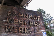 Railway Station Wernerwerk, B...
