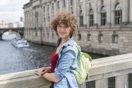Germany, Berlin, portrait of ...
